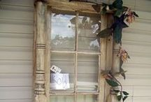 Old windows / Vecchie finestre / Come riciclare le tue vecchie finestre
