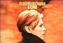 David Bowie / a total rock icon.