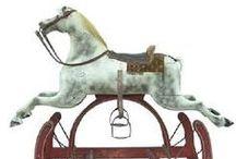 rocking horse / by MHB at Stonehedge Farm