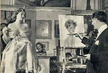 Pin-Up Art by DOMERGUE, Jean-Gabriel / 1889 - 1962