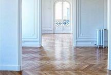 FLOOR TILES FOR HOME | / My love for Parisian herringbone wooden floors xo