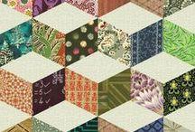 Quilts Paper Piecing Diamonds