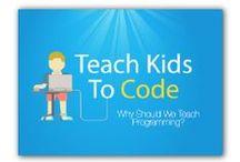 Lær børn at programmere / Her finder du forskellige programmer, hjemmesider og apps, som fortæller om hvordan du kommer i gang med at programmere i skolen