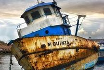 Ship Wrecks / Abandoned Ships   / by Trevor Bevan