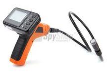 Inspekční kamery - boroskopy / Inspekční kamery (boroskopy) s LCD monitorem a LED přísvitem - inspekce obtížně dostupných míst
