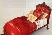 Dolls house furniture/ adjust pattern to suit bigger dolls/Inspiration / by Marlis Hempson