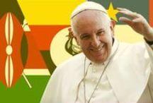 Papież w Afryce / Spotkania z młodzieżą, duchowieństwem, rządzącymi, ale także z przedstawicielami muzułmanów, innych wyznań chrześcijańskich, odwiedziny obozu dla uchodźców są w programie pierwszej pielgrzymki papieża Franciszka na kontynent afrykański. Odbędzie się ona w dniach 25-30 listopada br. i obejmie Kenię, Ugandę oraz Republikę Środkowoafrykańską. Zapraszamy do śledzenia bieżących relacji z papieskiej podróży.  #PopeInAfrica #PopeInKenya #PopeInUganda #PopeInCAR