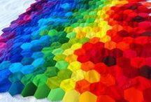 Quilts Paper piecing Hexagons
