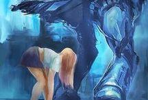 Science Fiction Art / by ArtShima
