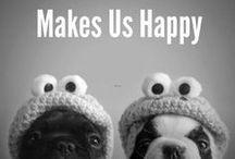 { makes us happy }