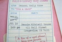 { baby showers } / Baby Shower Ideas #babyshowers