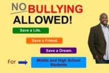 NO Bullying Allowed! / Anti Bullying Graphic Quotes, Videos, Interviews, and More by Ty Howard. Let's all work tirelessly together to stop and bring and end to Bullying everywhere!
