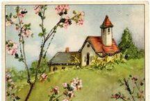 Vintage Easter Artwork / Easter Art and Ideas