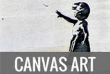 Canvas Art by WallArt-Direct / Canvas art framed on chunky pine wood frames, great for adding texture to artwork