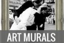 Art Murals by WallArt-Direct / Art Murals a new style of wall art brought to you by Wall Art Direct.