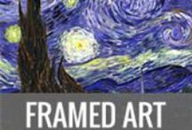 Framed Art by WallArt-Direct / Framed Art Prints adding the right frame can make a picture suit almost any setting.