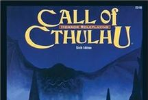 Call of Cthulhu CoC RPG Book Covers / DISCLAIMER This is not our art. Pins are provided to help gamers discover new (and old) RPG titles and to educate roleplaying game authors as to common book cover design elements. ~ If your pin has been pinned by us and you'd like it removed or revised, please contact us by putting a comment on that pin.