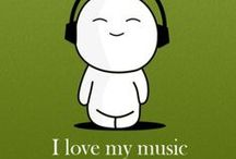 """Music / """"Music expresses that which cannot be put into words and that which cannot remain silent""""  ― Victor Hugo"""