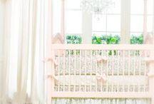 { beautiful nurseries } / #Fine #Bedding #Chandeliers & #Pendants for the #Baby #Nursery