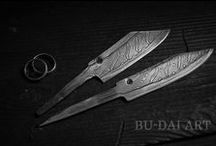 Hand forged knives / I present to you hand forged knives which I've made myself :)