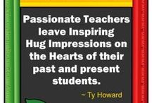 Quotes for Teachers / Random motivational and inspirational graphic quotes for teachers, educators, administrators, and counselors by Ty Howard. [ http://www.TyTeacherQuotes.com ]