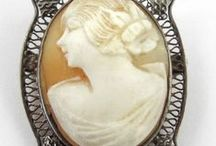 ♥antique cameo brooch&pendant♥ / WELCOME