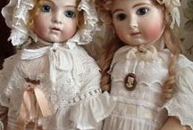 ♥antique dolls and dress&bonnet♥ / WELCOME