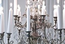 ♥antique chandelier♥ / WELCOME