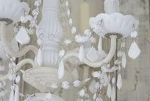 ♥shabby chic chandelier♥ / WELCOME