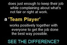 Teamwork Tips and Quotes / Random Teamwork and Team Building thoughts, sayings, tips, articles, and quotes from Ty Howard, CEO and Editor-in-Chief of MOTIVATION magazine. Some are motivational. Some are inspirational. Some are Positive. Some are Uplifting. Some are simply meant to increase awareness to hopefully bring forth immediate positive change and improvement(s) in the area of Teamwork development and success.