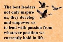 Leadership Tips and Quotes / Random Leadership thoughts, sayings, tips, articles, and quotes from Ty Howard, CEO and Editor-in-Chief of MOTIVATION magazine. Some are motivational. Some are inspirational. Some are Positive. Some are Uplifting. Some are simply meant to increase awareness to hopefully bring forth immediate positive change and improvement(s) in the area of Leadership development and success.