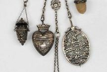 ♥antique chatelaine♥