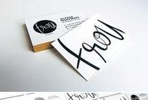 Visitenkarten / schöne Visitenkarten