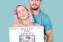 #Olicity <3 (Arrow) / You told me once that life is precious and you wanted more from it than I could offer you. Don't give up on that. The only way that I'm gonna survive this is if I know that you're out there living your life, happy. — Oliver