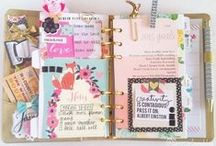 PLANNER & LETTERS