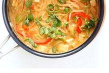 Recipes: Vegetarian / Vegetarian food, vegetarian recipes, broccoli, carrots, potatoes, red peppers, tomatoes, tofu, vegetarian dinners, vegetarian snacks, vegetarian appetizers, vegetarian soups, vegan, vegan food, vegan recipes, vegan sandwiches, pastas, vegetarian pastas, vegetarian one pot meals, veggies, easy vegetarian recipes