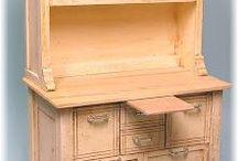 Mini Tutes Furniture / Tutorials for miniature furniture making