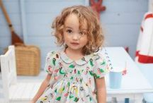 Musing on Girlish Fashion / Baby & toddler girls' fashion