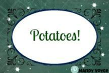 """Potatoes, Potatoes, and More Potatoes / All potato recipes, for salads, side dishes anything that calls for potatoes as the """"main"""" ingredient"""