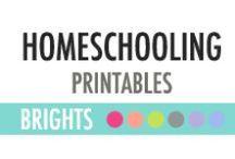 Homeschooling Printables - DIY Planner / Homeschooling Printables - DIY Planner