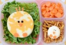 "Lunch Ideas / Whether at home or at school, these cute and healthy food ideas will help you answer your kids when they ask ""What's for lunch?!"".  / by CBC Parents + Kids' CBC"
