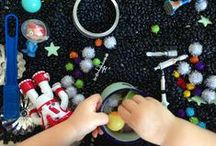 Sensory Play / Fun ways to play that stimulate all the senses, particularly sight, smell and touch. Sensory bins, sensory bin fillers and lots of good, messy fun! / by CBC Parents + Kids' CBC