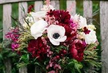 Musings on Wedding Flowers / wedding bouquets & flowerscapes