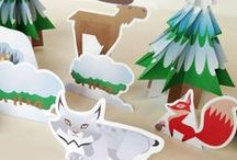 Printables / Free games, paper crafts, downloadables and more! / by CBC Parents + Kids' CBC