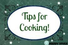 Food, Tips and Ideas / If you want to making your time in the kitchen quicker, and more enjoyable these tips are sure to make that happen.