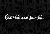 Bumble & Bumble Favorites! / We carry the full line of Bumble and Bumble products! Bring home beautiful runway ready hair!