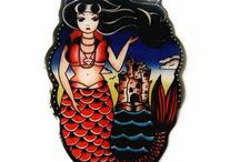 Mermaids / All the pretty things floating under the sea and in our store