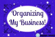 Home Based Business - Organizing and Planning / If you run a home based business, sell a direct sales product or Multi Level Marketing, then you need to organize your office. Any and all tips and tricks to organize and plan your business when you run it from your home