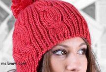 Knitted Hats / Hats, Caps, Headbands, etc