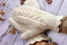 Mittens / Knitted mittens